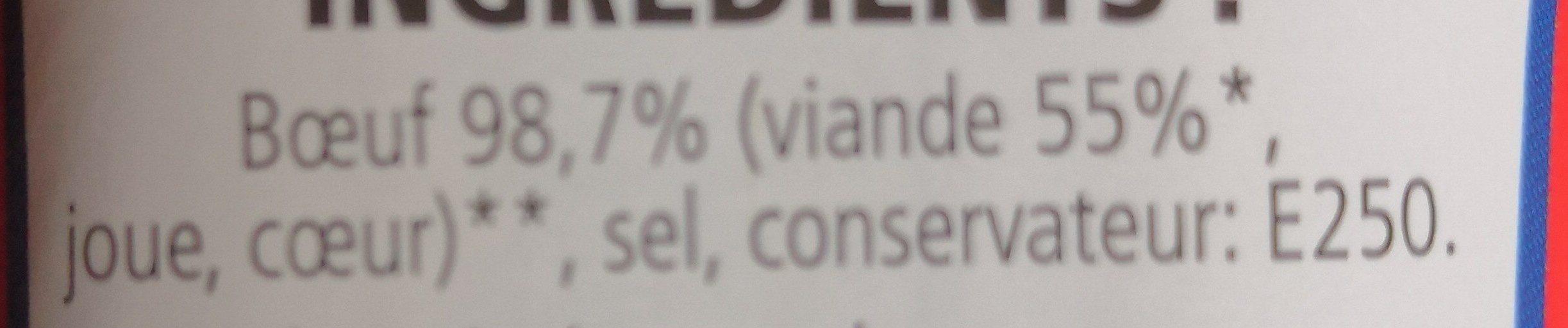Corned beef - Ingrédients - fr
