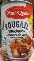 Rougail saucisses et pommes de terre - Produit