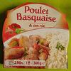 Poulet basquaise & son riz - Produit