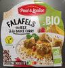 Falafels au riz sauce curry - Product