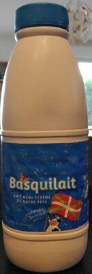 Lait demi ecreme UHT BASQUILAIT - Product