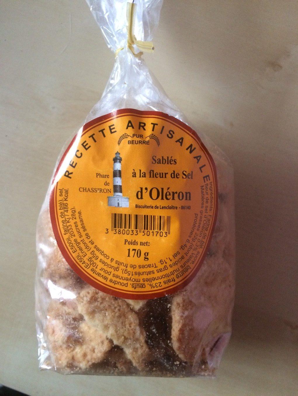 Sablés d'Oléron fleur de sel - Product