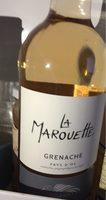 """Vinceremos Grenache Rose """"La Marouette"""" 2014 - Product - fr"""