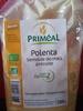 Polenta, Semoule de maïs précuite - Produit