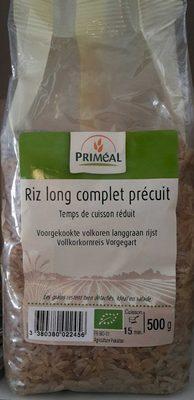 Riz Long Complet Précuit - Product - en