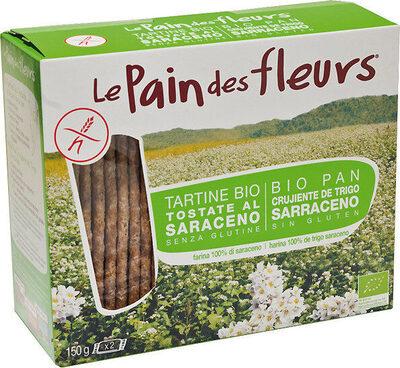 Pan ecológico crujiente de trigo sarraceno sin gluten - Product - es