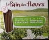 """Tostadas ecológicas """"Le Pain des Fleurs"""" Trigo sarraceno - Producto"""