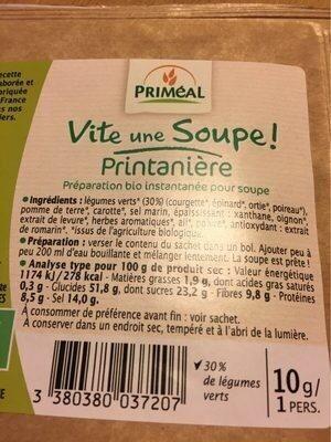 Soupe de Légumes (en Conserve, Condensée) - Produit - fr