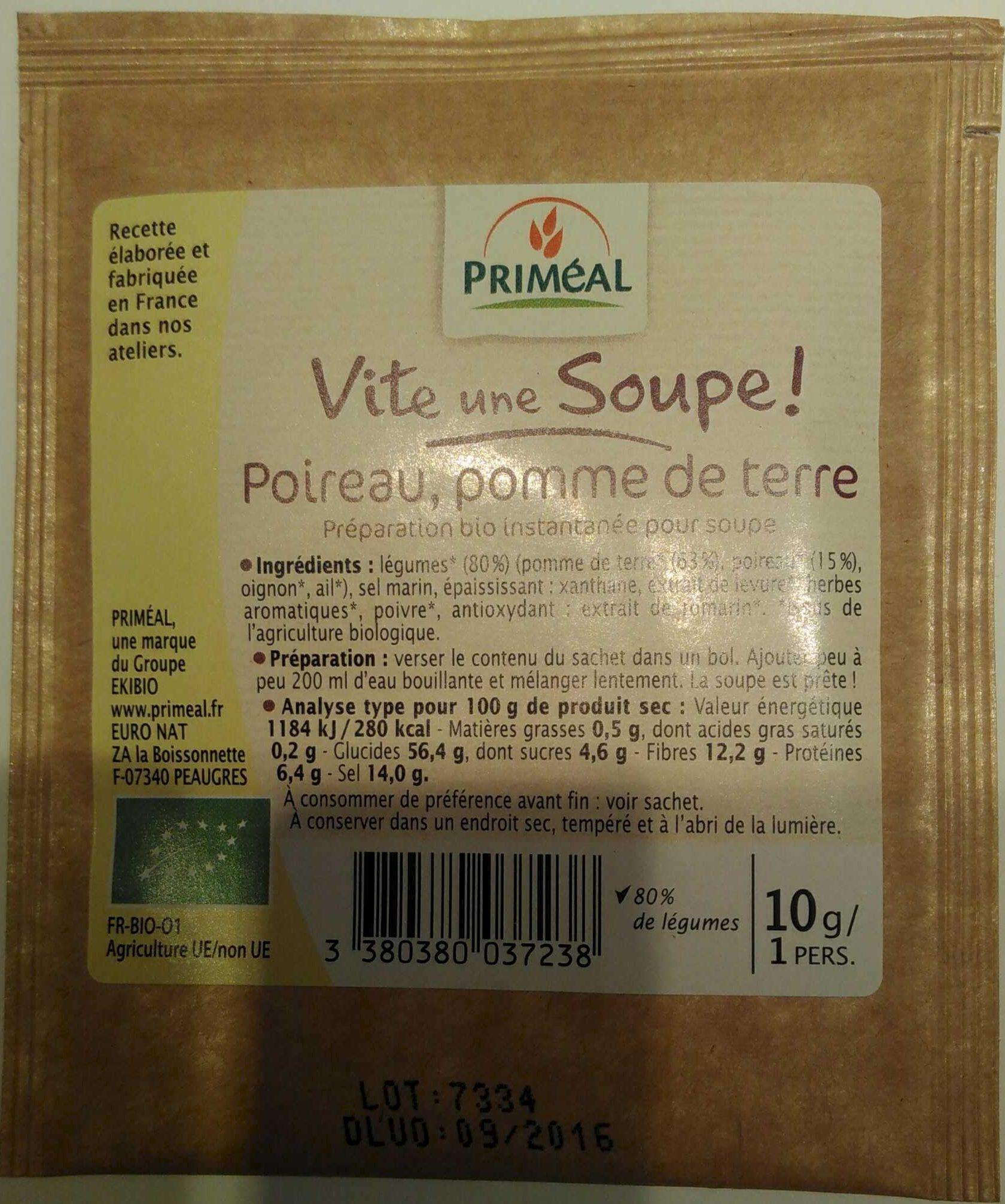 Vite une Soupe Poireau, pomme de terre - Product