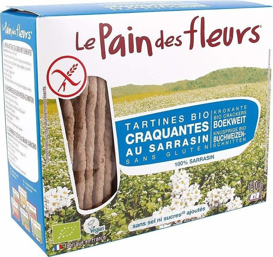 Tartines craquantes bio au sarrasin sans gluten - Prodotto - fr