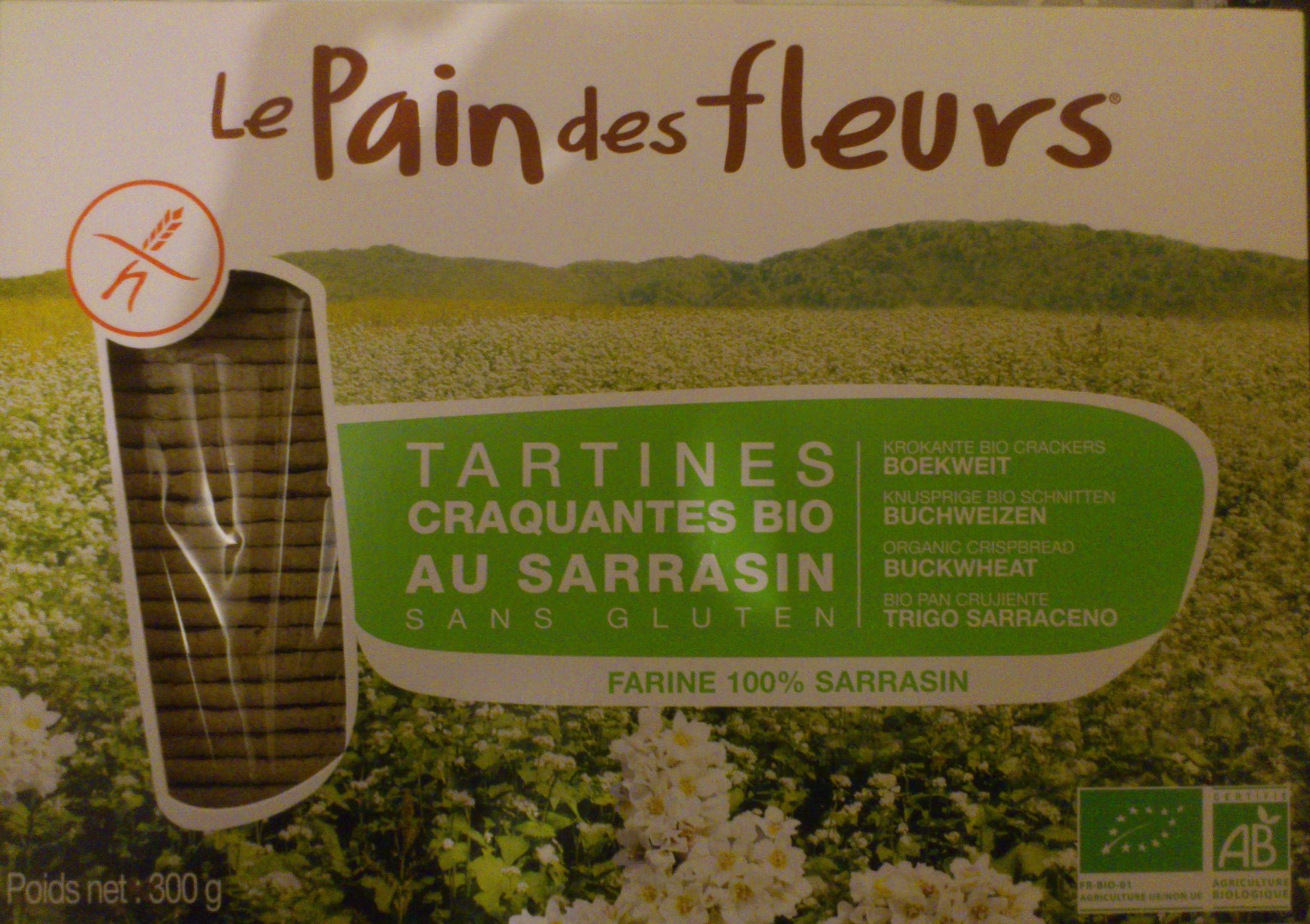Tartines craquantes bio au sarrasin sans gluten - Product