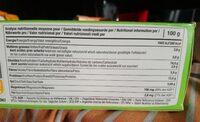 Tartines craquantes au sarrasin - Nutrition facts - fr