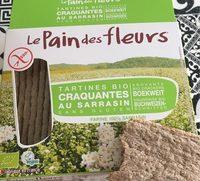 Tartines craquantes au sarrasin - Produit