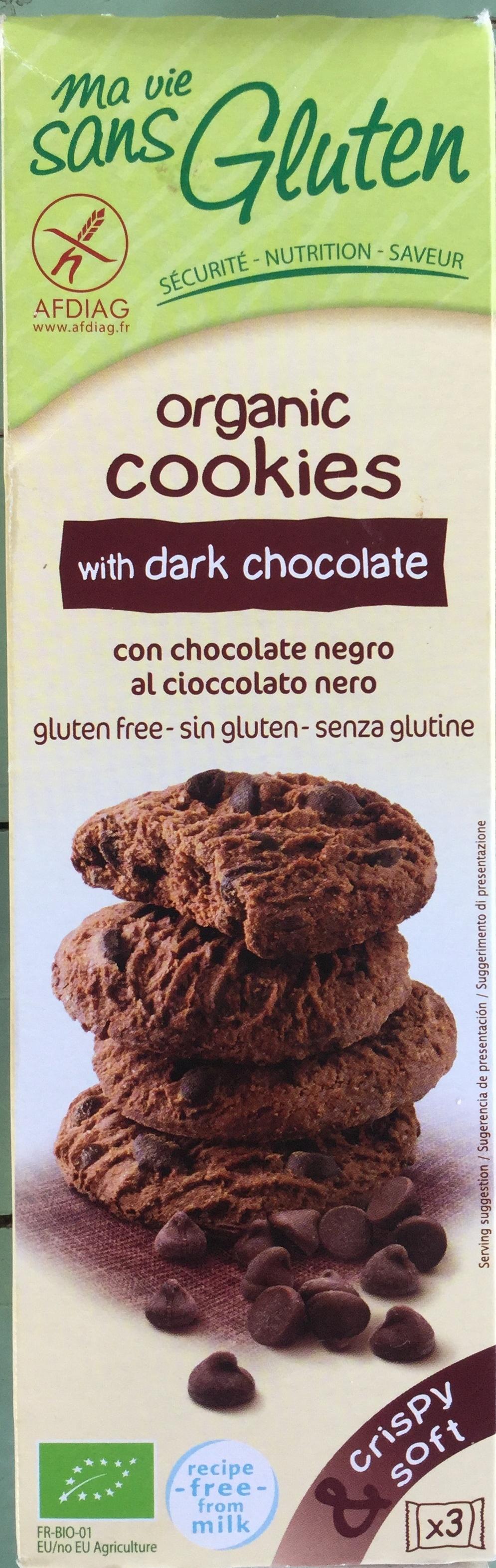 Cookies bio au chocolat noir - Product - en