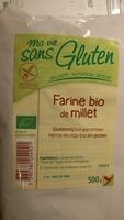Farine bio de millet - Produit
