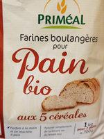 Farine Pour Pain Aux 5 Cereales - Product