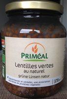 Lentilles Vertes Au Naturel - Product - fr