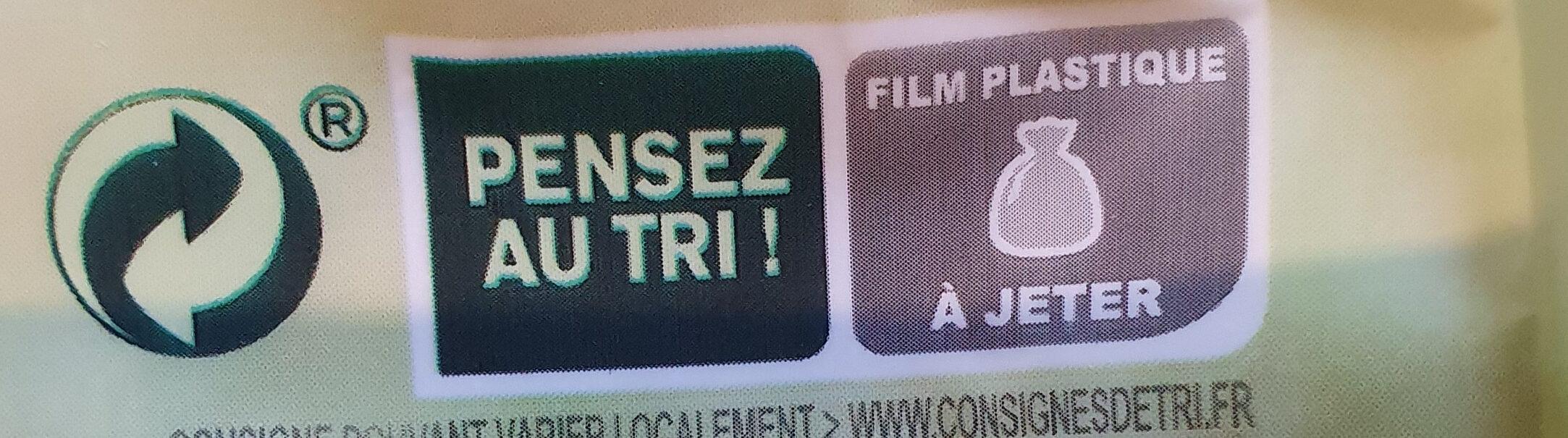 Trio de riz de Camargue - Instruction de recyclage et/ou informations d'emballage - fr
