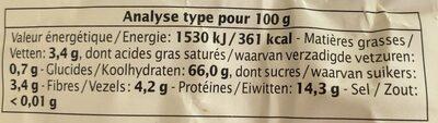 Penne au Sarrasin - Informations nutritionnelles - fr