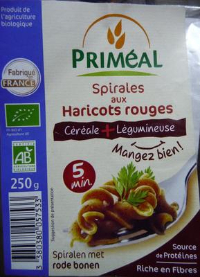 Spirales aux Haricots rouges - Prodotto - fr