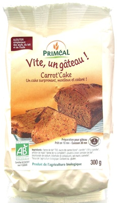 Carrot' Cake - Product
