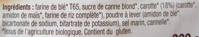 Carrot' Cake - Ingredients
