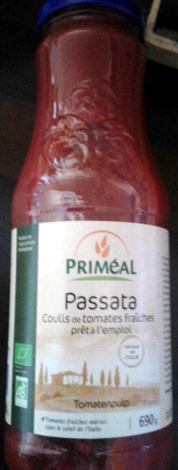 Passata, Coulis de tomates fraîches - Produit - fr