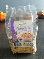 Couscous aux fleurs - Ingrédients