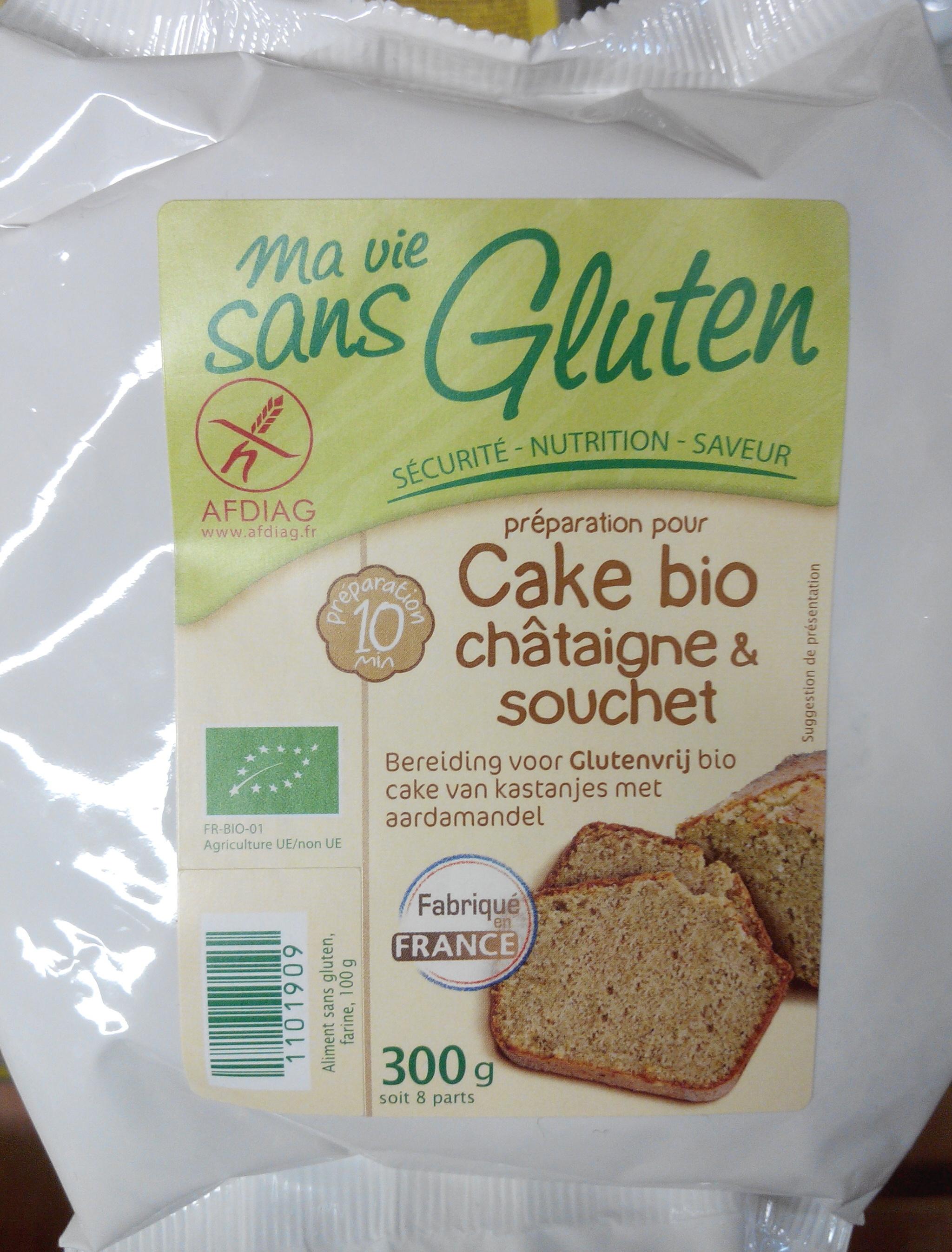 Préparation pour cake bio châtaigne et souchet - Product