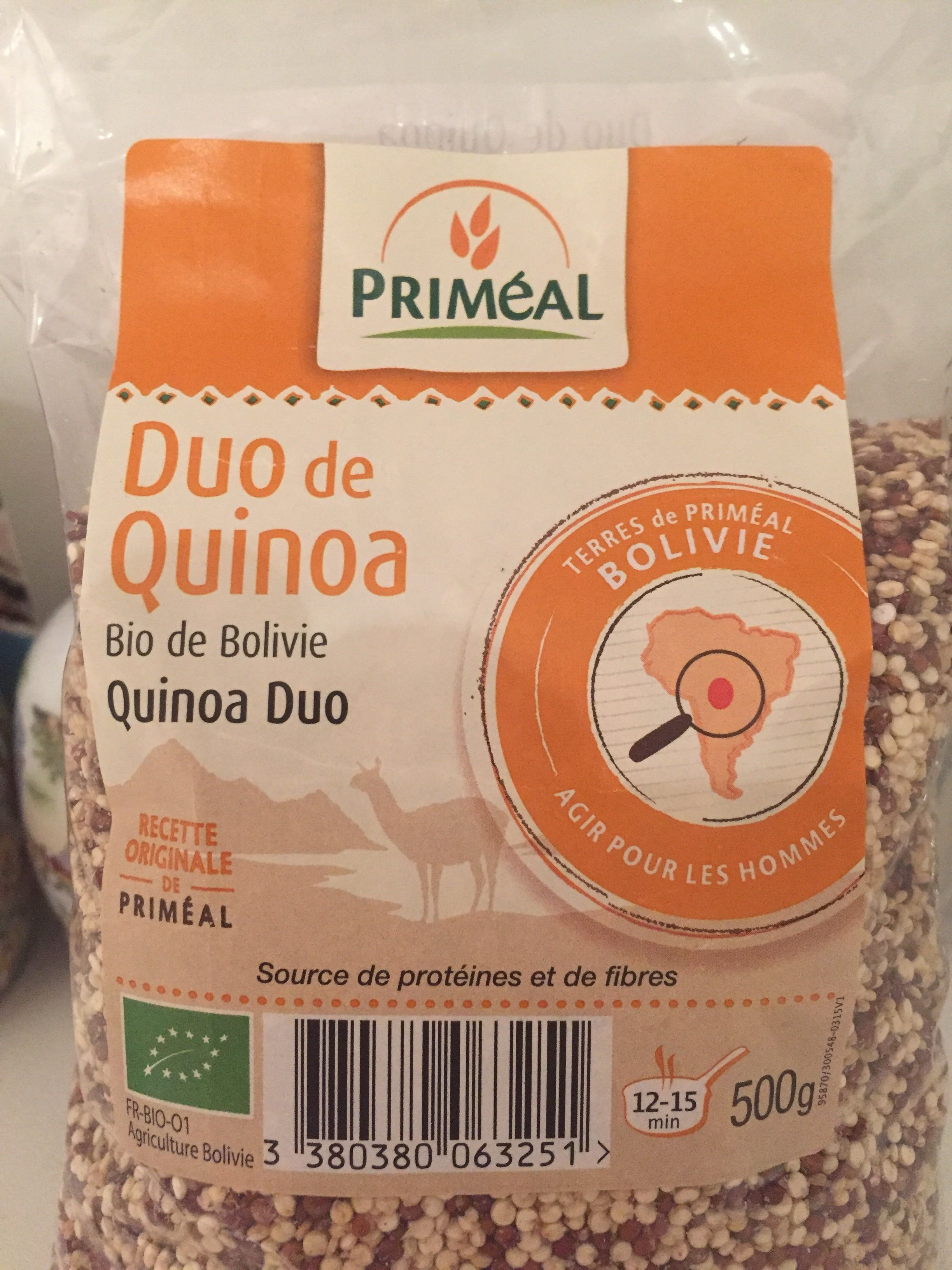 Duo de quinoa bio de Bolivie - Product