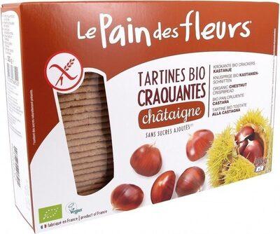 Tartines craquantes bio à la châtaigne sans gluten - Prodotto - fr