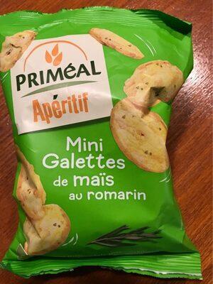 Primeal - Mini Galettes De Maïs Au Romarin - Produit - fr