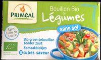 Bouillon bio de légumes sans sel - Product
