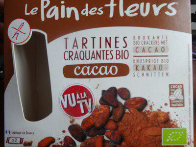 Tartines craquantes bio cacao - Product - en