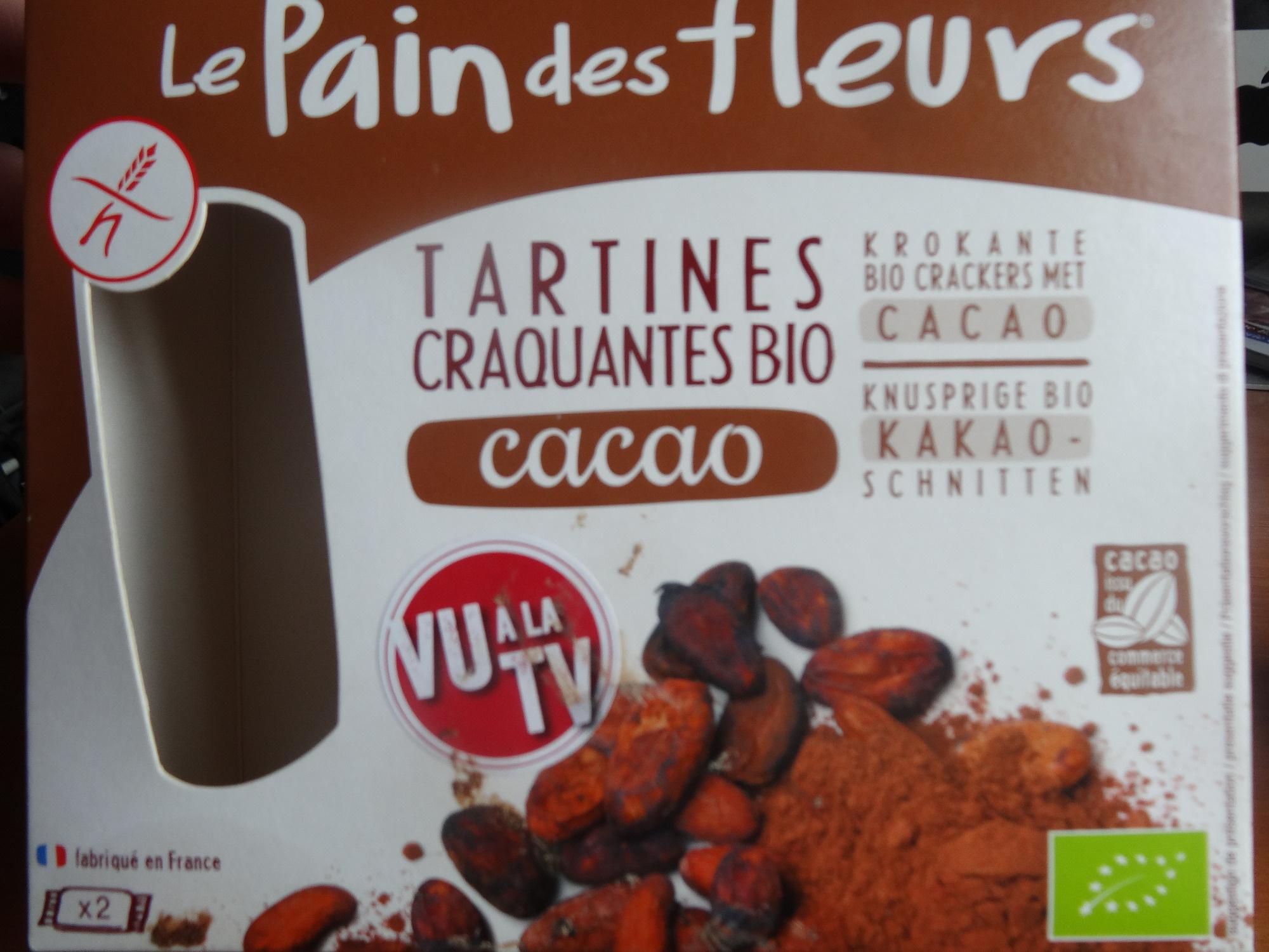 Tartines craquantes bio cacao - Produit