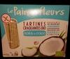 Tartines craquantes bio Noix de coco - Product