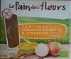 Tartines craquantes bio à l'oignon - Producto