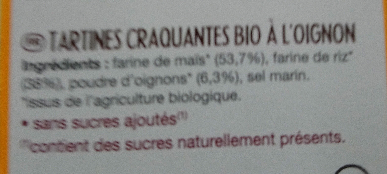 Pains des fleurs oignon - Ingredienti - fr