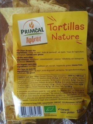 Tortillas nature - Produit - fr