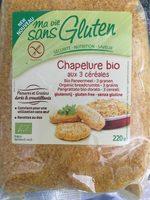 Chapelure 3 Céréales Bio - 220 G - Ma Vie Sans Gluten - Product