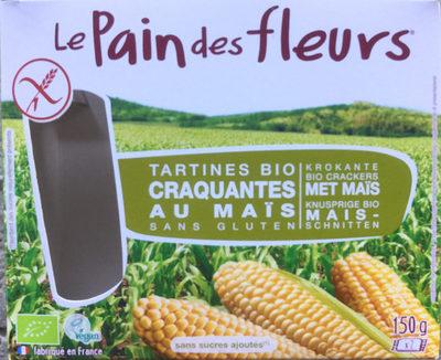 Tartines Craquantes Maïs-riz Bio - 150 G - Le Pain Des Fleurs - Product