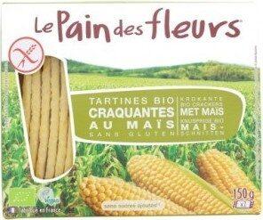 Tartines Craquantes Maïs-riz Bio - 150 G - Le Pain Des Fleurs - Prodotto - fr