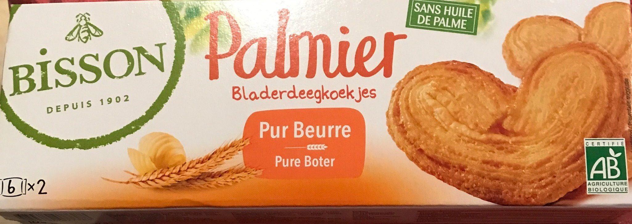 Palmier BIO Pur Beurre - Product - fr