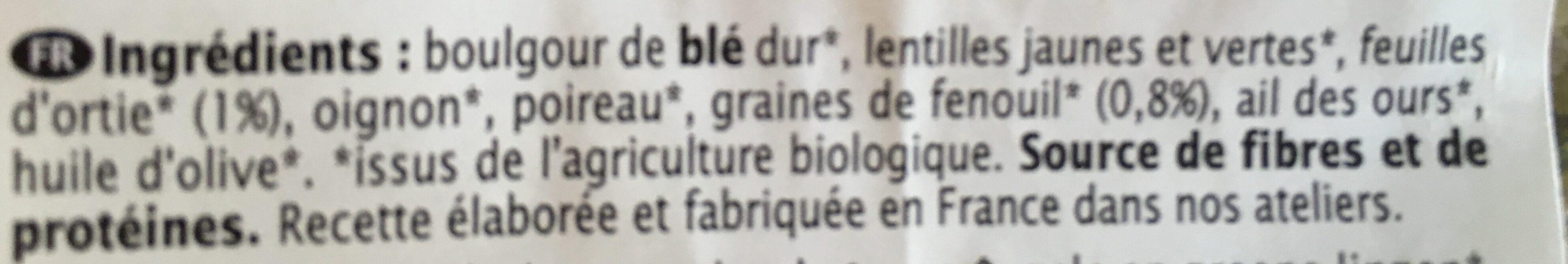 Epicerie / Céréales, Graines, Pâtes, Riz / Semoule, Boulgour, Couscous - Ingredientes