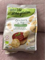 Crackers de Riz à l'huile d'olive - Produit