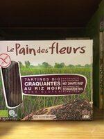 Tartines Craquantes Au Riz Noir Bio sans gluten - Product - fr
