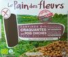 Tartines Bio craquantes aux pois chiches sans gluten - Product