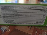 tartines bio craquantes au sarrasin sans gluten - Nutrition facts