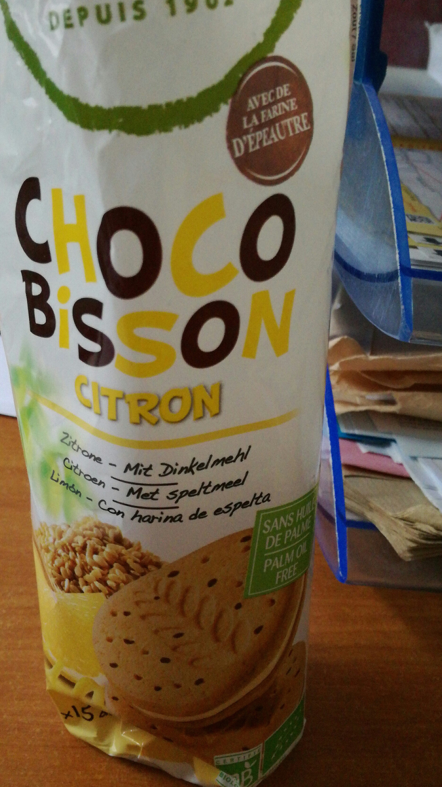 Choco Bisson Citron - Product