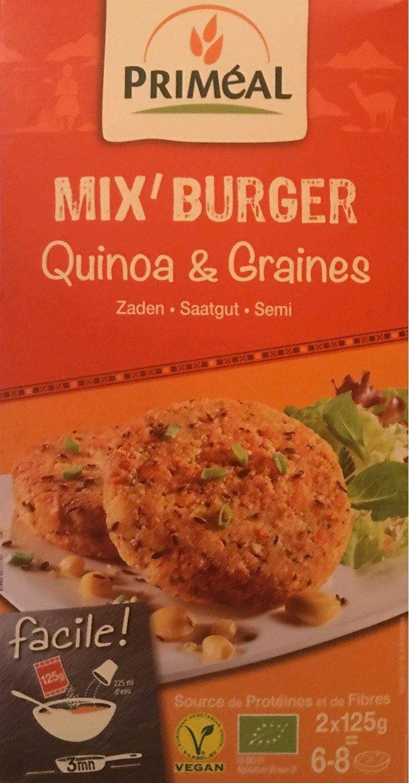 Mix'burger - Produit - fr